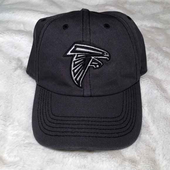 5f11d8b1 Fitted Gray Atlanta Falcons Logo Hat NWT